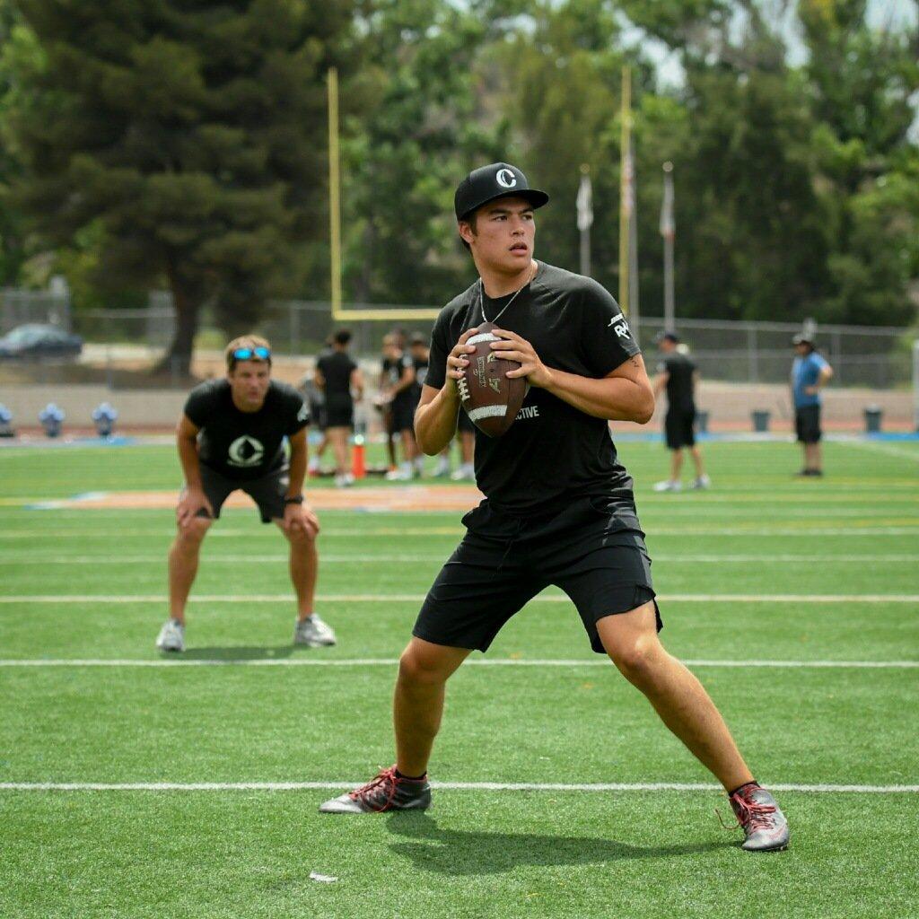 A Method Schools High School Athlete at Football Practice