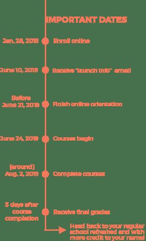 Timeline of SS19