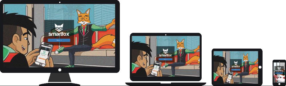 responsive web design smartfox